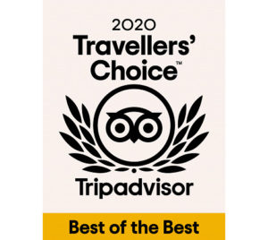 Trip Advisor Traveller's Choice 2020